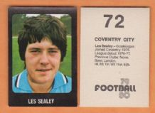 Coventry City Les Sealey